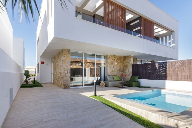 Luxury Three Bedroom Villas in San Pedro del Pinatar