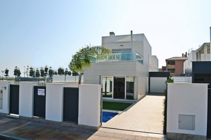Los Alcazares Villas with 3 bedrooms