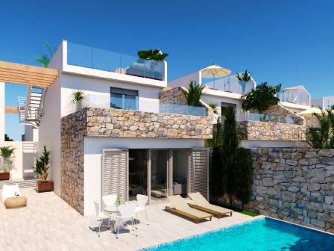 Los Alcazares Villas Close to the Beach